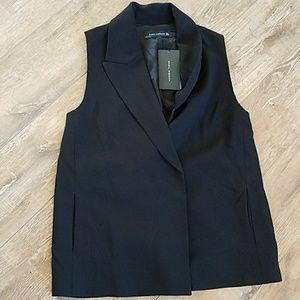 Zara Women's Suit Jacket Sleeveless Size S